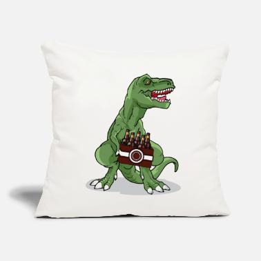 "Beer Rex - Throw Pillow Cover 18"" x 18"""