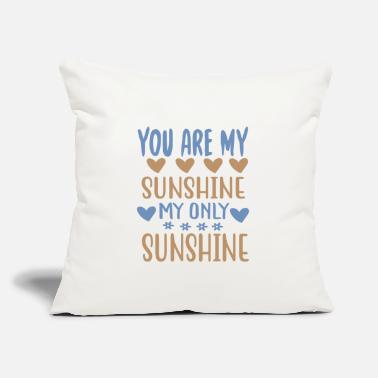 "Explorer You are my - Adventure Design - Throw Pillow Cover 18"" x 18"""