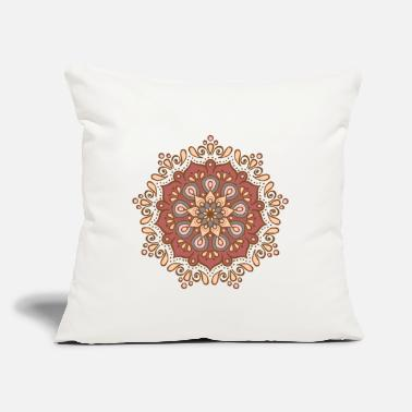 "Mandala Mandala Elegant Colors Pattern Gift Women - Throw Pillow Cover 18"" x 18"""