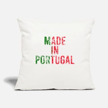 "Portugal Portugal - Throw Pillow Cover 18"" x 18"""
