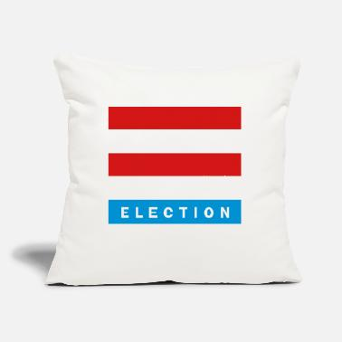 "Elect Election - Throw Pillow Cover 18"" x 18"""