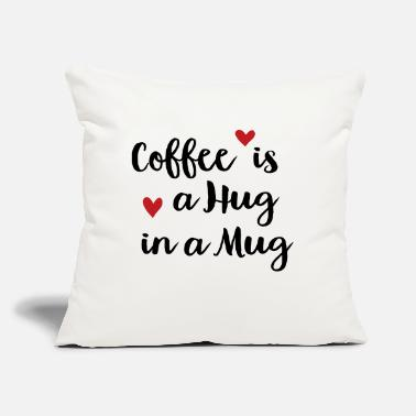 "Coffee coffee is - Throw Pillow Cover 18"" x 18"""