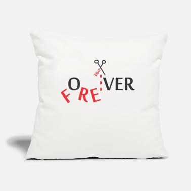 Over for over - Throw Pillow Cover
