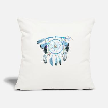 "Jewelry Indian Jewelry,Native American Jewelry, feather - Throw Pillow Cover 18"" x 18"""