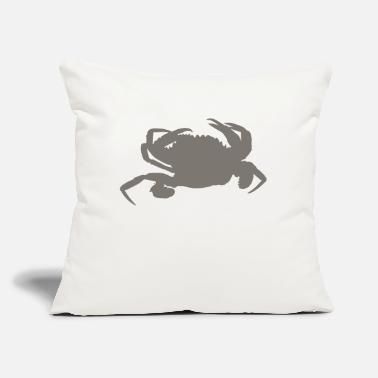 "Crab crab - Throw Pillow Cover 18"" x 18"""