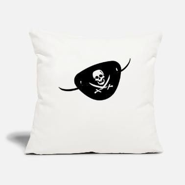 "Eye Patch pirate´s eye patch - Throw Pillow Cover 18"" x 18"""