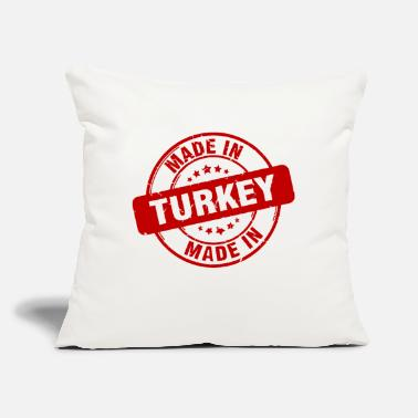"Made Made in Made in - Throw Pillow Cover 18"" x 18"""