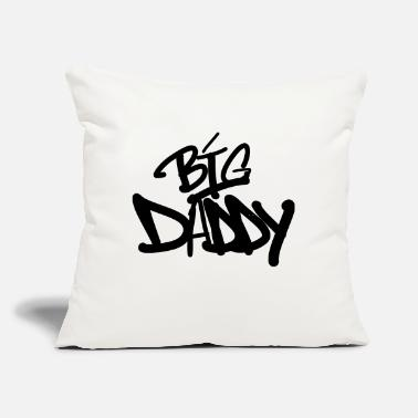 "Big Daddy Big Daddy - Throw Pillow Cover 18"" x 18"""