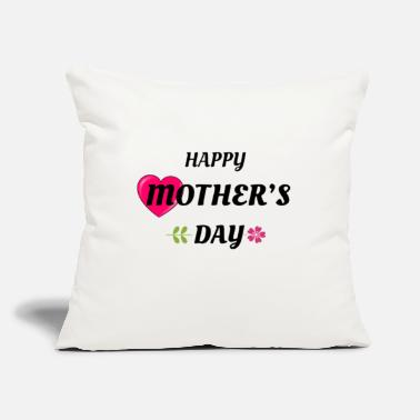 "Day Mothers Day- HAPPY MOTHERS DAY - Throw Pillow Cover 18"" x 18"""