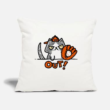 "Out Out - Throw Pillow Cover 18"" x 18"""