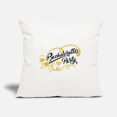 "Wedding Party Junggesellenabschied Bachelorette Party - Throw Pillow Cover 18"" x 18"""