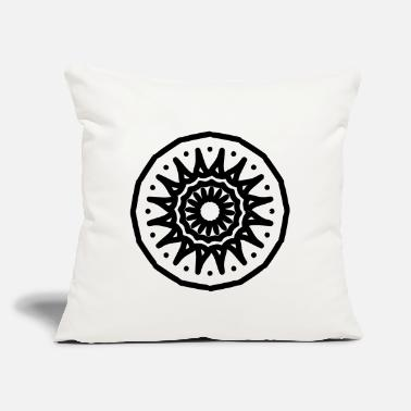 "Mandala Mandala - Throw Pillow Cover 18"" x 18"""