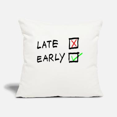 "Stage Early Stage - Throw Pillow Cover 18"" x 18"""