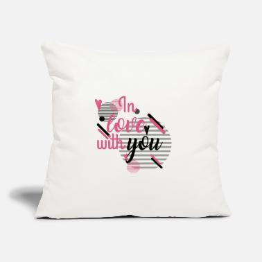 "Love You in Love With YOu - Throw Pillow Cover 18"" x 18"""