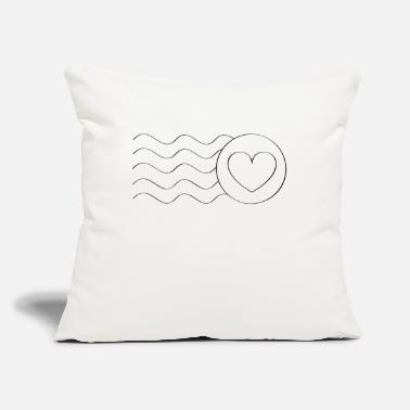 "Love Letter Love Letter - Throw Pillow Cover 18"" x 18"""