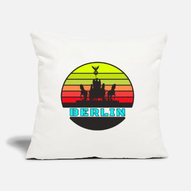"Alexanderplatz Berlin District Brandenburg Gate / Gift - Throw Pillow Cover 18"" x 18"""