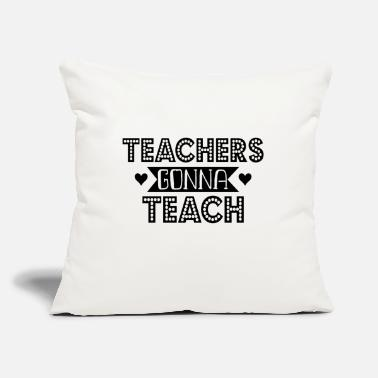 "Teaching Teach - Throw Pillow Cover 18"" x 18"""