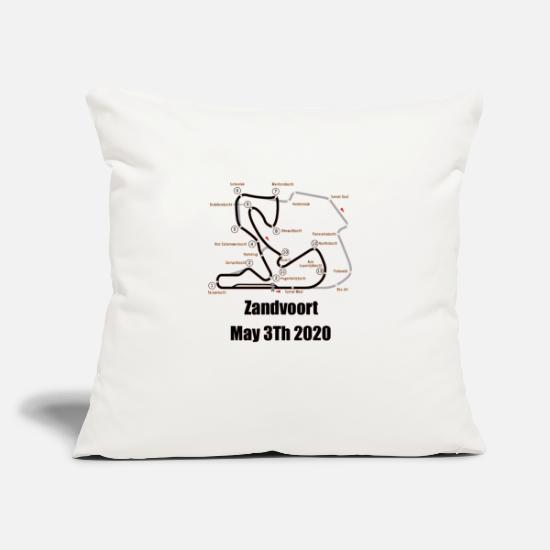 "Dutch Pillow Cases - F1 Holland - Throw Pillow Cover 18"" x 18"" natural white"