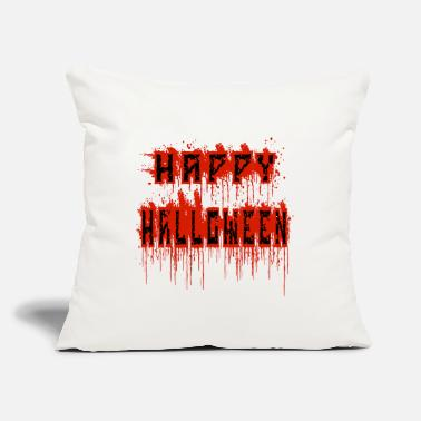 "Bloody bloody halloween - Throw Pillow Cover 18"" x 18"""