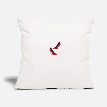"Highheels Shoes Highheels - Throw Pillow Cover 18"" x 18"""