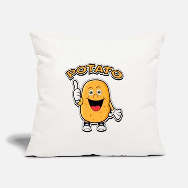 "Potatoes potato potatoes - Throw Pillow Cover 18"" x 18"""