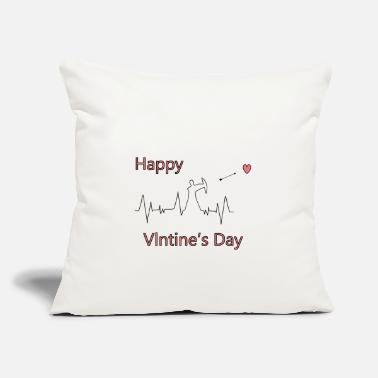 "Cupido Valentine's Day - Love - Cupido - Throw Pillow Cover 18"" x 18"""