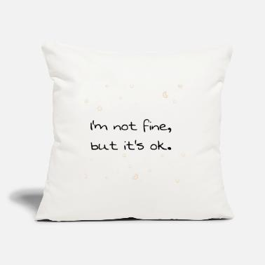 "Phrases Phrases. - Throw Pillow Cover 18"" x 18"""
