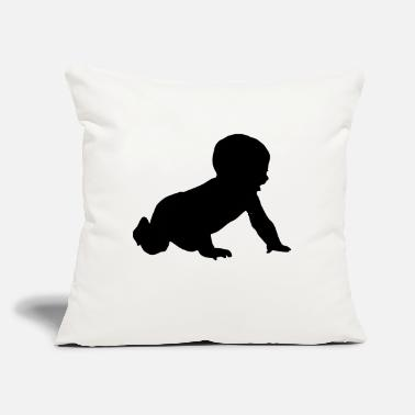 "Baby Baby - Throw Pillow Cover 18"" x 18"""