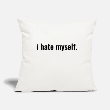 "Plain Plain - Throw Pillow Cover 18"" x 18"""