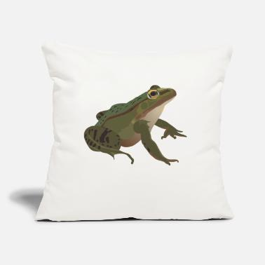 "Frog Froggidi Frog Frog - Throw Pillow Cover 18"" x 18"""