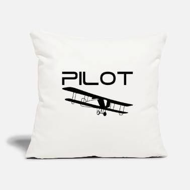 Pilot Pilot - Throw Pillow Cover