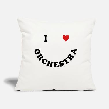 "Orchestra Orchestra - Throw Pillow Cover 18"" x 18"""