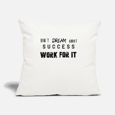 "Success success sticker - Throw Pillow Cover 18"" x 18"""