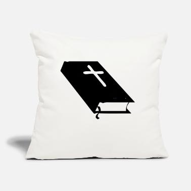 "Bible bible - Throw Pillow Cover 18"" x 18"""