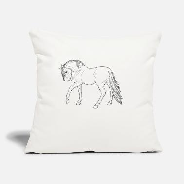 "Bagu 1 - Throw Pillow Cover 18"" x 18"""