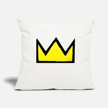"the king - Throw Pillow Cover 18"" x 18"""
