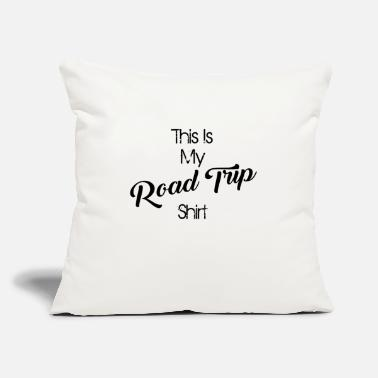 "road trip - Throw Pillow Cover 18"" x 18"""