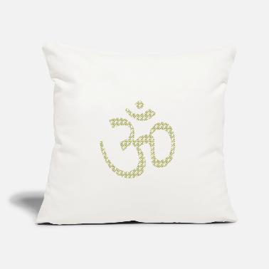 "Om Om on Om - Throw Pillow Cover 18"" x 18"""