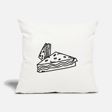 "Sandwich Sandwich, Eat Sandwiches - Throw Pillow Cover 18"" x 18"""