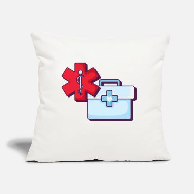 "Medicine Medicine - Throw Pillow Cover 18"" x 18"""
