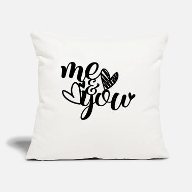 "Me Love You - Throw Pillow Cover 18"" x 18"""