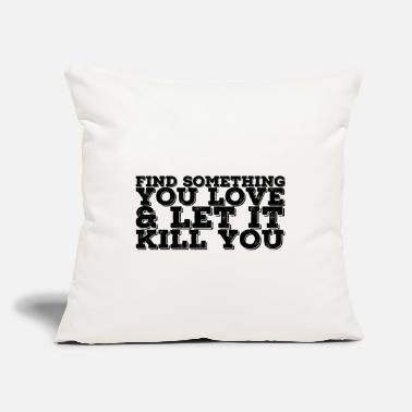 "Motto Lifestyle Motto - Throw Pillow Cover 18"" x 18"""