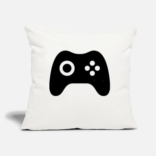 "Fate Pillow Cases - Gamer's Pad - Throw Pillow Cover 18"" x 18"" natural white"