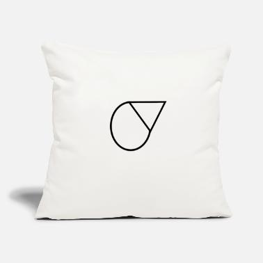 "Shape shape - Throw Pillow Cover 18"" x 18"""
