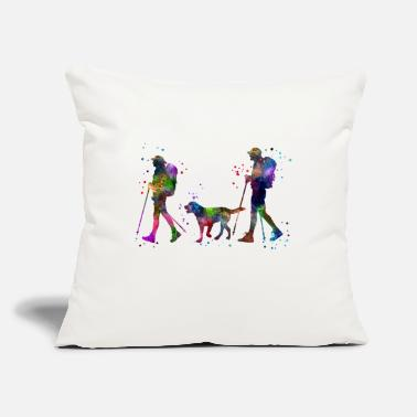 "Couples Traveling as a couple, couple, couple traveling - Throw Pillow Cover 18"" x 18"""