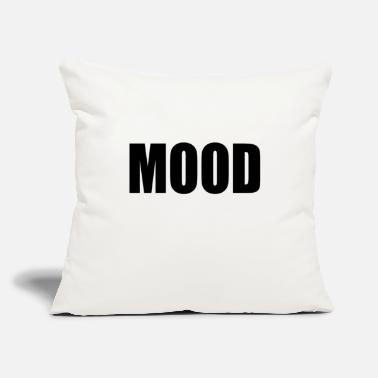 "Mood MOOD - Throw Pillow Cover 18"" x 18"""