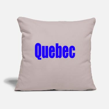 "Quebec quebec - Throw Pillow Cover 18"" x 18"""