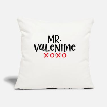"Mr. Valentine - Throw Pillow Cover 18"" x 18"""