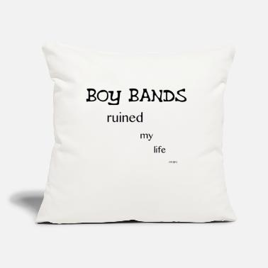 "Calum Boy bands Ruined My Life iPhone 6 Case(No Hearts) - Throw Pillow Cover 18"" x 18"""