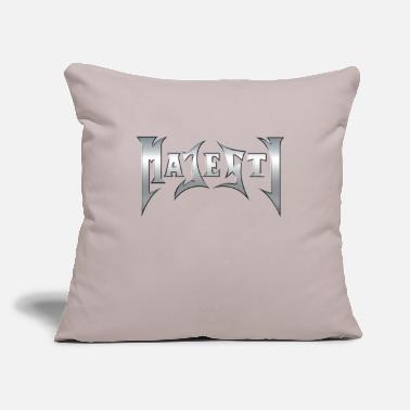 "Majesty Majesty logo - Throw Pillow Cover 18"" x 18"""